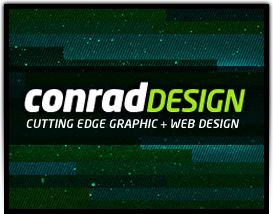 Conrad Design:  Cutting Edge Graphic and Web Design